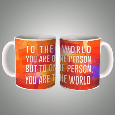 Posterboy You are the World Ceramic Mug