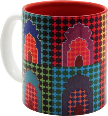 The Elephant Company Ceramic Mehrab Ceramic Mug