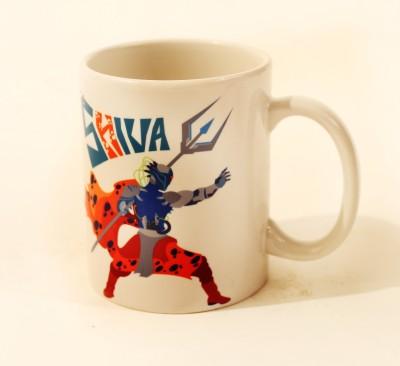 The Purple Sack Shiva Ceramic Mug