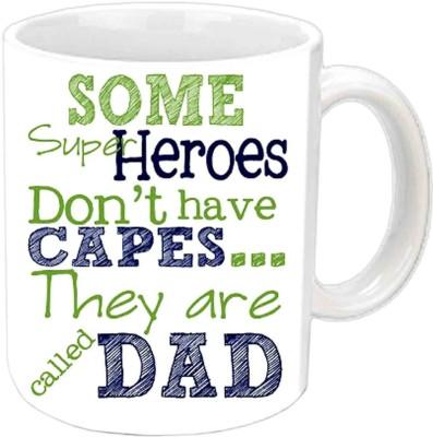 RajLaxmi My Superhero ,My Dad White  Ceramic Mug