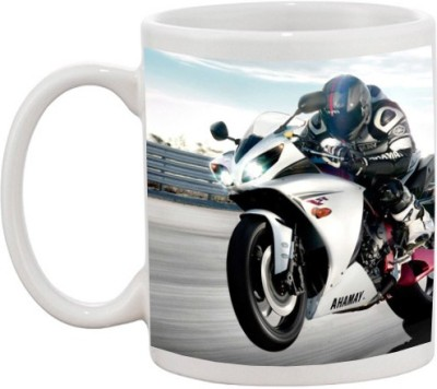 Go online shop Racing bike Ceramic Mug