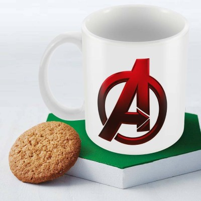Posterboy Avengers Logo Officially Licensed (Pack Of 1) Ceramic Mug