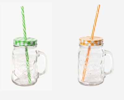 DUCATI CLASSY MASON JAR Glass Mug