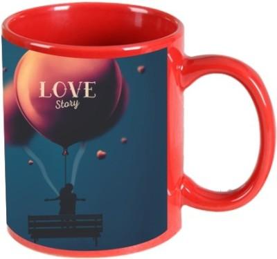 Printland Love Blossoms Valentine Day Ceramic Mug