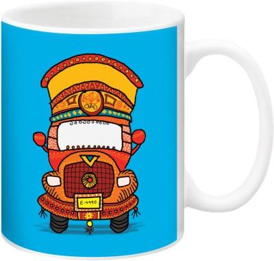 ezyPRNT Horn OK Please Ceramic Mug