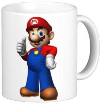G&G Mario Good Luck Ceramic Mug