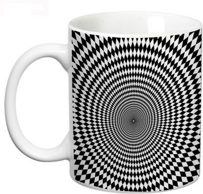 Prithish Pscychological Illusions Design 9 Ceramic Mug