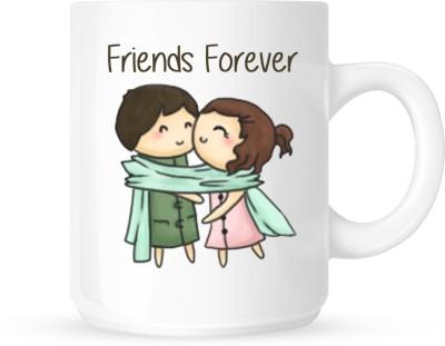 Huppme Friend Forever Ceramic Mug