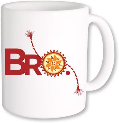A Plus Raksha Bandhan Bro.jpg Ceramic Mug