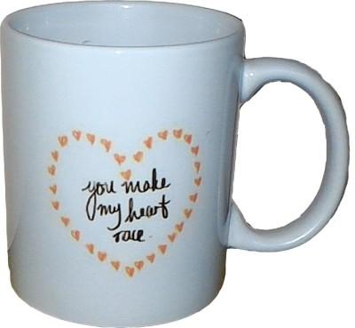 Exxact Make My Heart Race Ceramic Mug