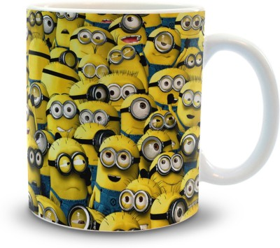 Shoppers Bucket hoppers Bucket Minion  Ceramic Mug