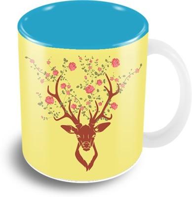 The Crazy Me Deer Ceramic Mug