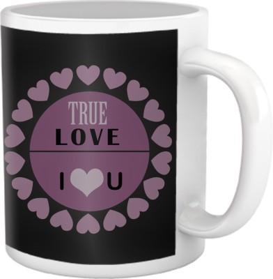 Tiedribbons True Love I Love You Coffee  Ceramic Mug