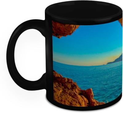 HomeSoGood Where Nature Meets Humanity Ceramic Mug