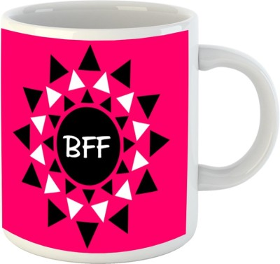 HuppmeGift Best Friend Forever White  Ceramic Mug