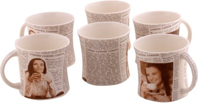 Onlinemaniya ONMCup63 Bone China Mug