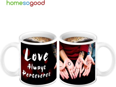 HomeSoGood Awesome Love Bonding (2 s) Ceramic Mug