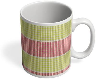 PosterGuy Triangular Warm Pattern Patterns, Triangle Patterns, Geometrical Patterns Ceramic Mug