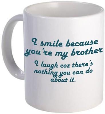 Giftsmate Funny for Brother Ceramic Mug