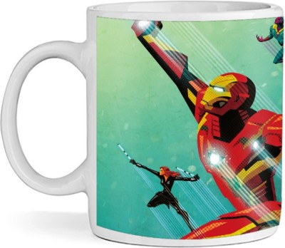 SBBT Superhero Art Ceramic Mug