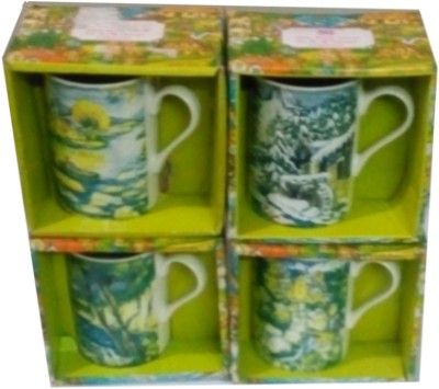 Dayinternational Floral Green  Ceramic Mug