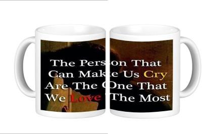 Shopmillions Love & Cry Ceramic Mug