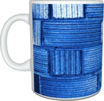 Creatives Mat Blue Ceramic Mug