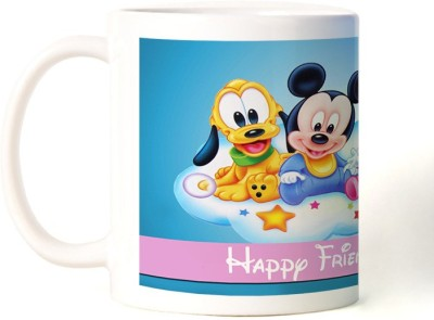 Rockmantra Baby Micky Happy Friendship Day Ceramic Mug