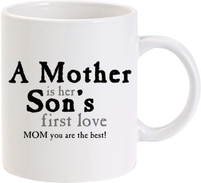 Lolprint 02 A Mother is Her Son's First Love Ceramic Mug