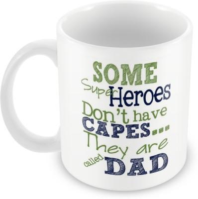 AKUP some super heroes like dad Ceramic Mug