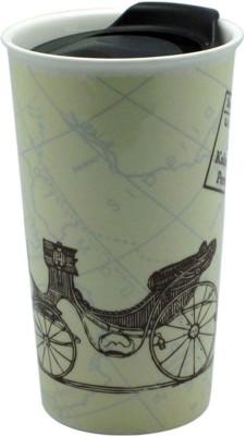 Just For Decor Rickshaw Print with Slidelids Ceramic Mug