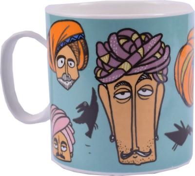 Enfin Homes Rajasthani Pagdi Bone China Mug