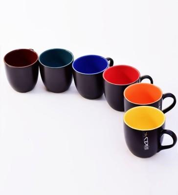 Henry Club BLACK MULTI MINI Ceramic Mug