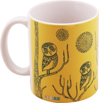 One For Blue Twilight Talon Ceramic Mug