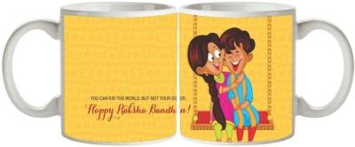 Artist Raksha Bandhan Rakhi MB-1817 Ceramic Mug