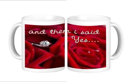 Shopmillions I Said Yes Ceramic Mug