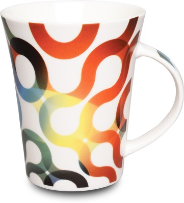 KUDOS SWIRL WAVE COFFEE Ceramic Mug