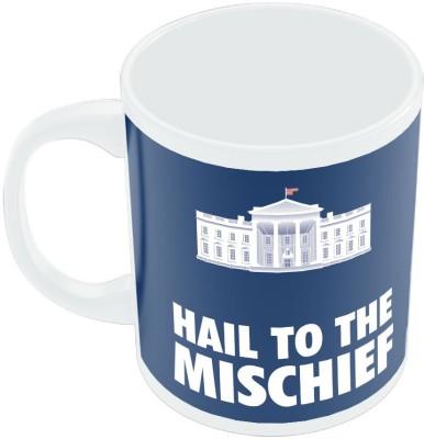 PosterGuy White House Frank Underwood House Of Cards TV Series Minimal Ceramic Mug