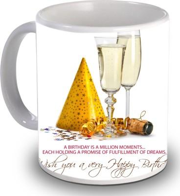 Print Helllo Happy Birthday R140 Ceramic Mug