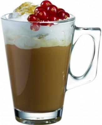 Pasabahce 55201 Glass Mug(250 ml, Pack of 2)