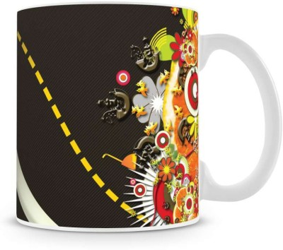 Saledart Mg401-Stylish And Beautiful Creativming Background Wallpaper Ceramic Mug
