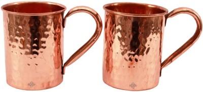 Indian Art Villa IAV-C-2-110A Copper Mug