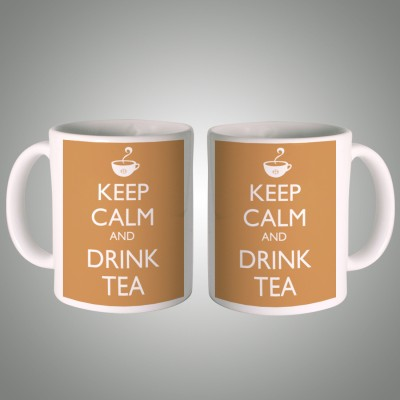 Posterboy Keep Calm and Drink Tea Ceramic Mug