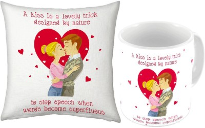 Home India White Coffee  n Filled Cushion Pair 224 Ceramic Mug