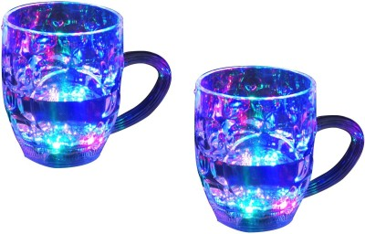 Caryn Combo Beer Party Multi-Color Led Light  Plastic Mug