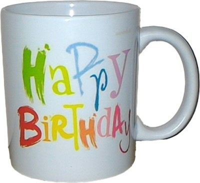 Exxact Happy Birthday  Ceramic Mug