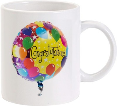 Lolprint 02 Congratulations Balloon Ceramic Mug