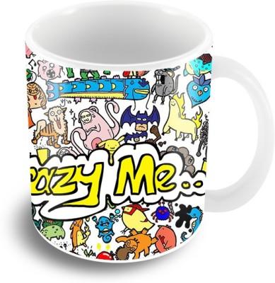 Thecrazyme Coffee Ceramic Mug