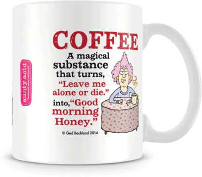 Aunty Acid Good Morning Honey Ceramic Mug