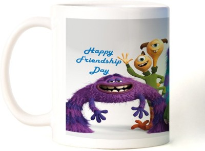 Rockmantra Alein Happy Friendship Day Ceramic Mug